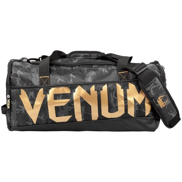 Venum Sparring Sporttasche Schwarz/Camo/Gold
