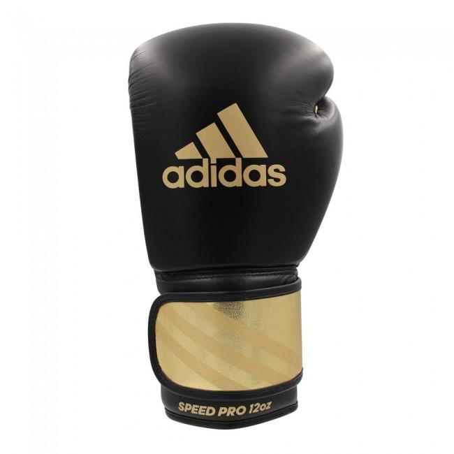 Adidas Boxhandschuhe Speed Pro Schwarz/Gold
