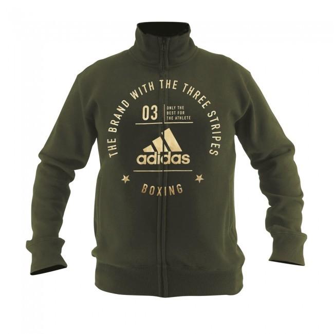 "Adidas Community Jacket ""BOXING"" Grün/Gold"