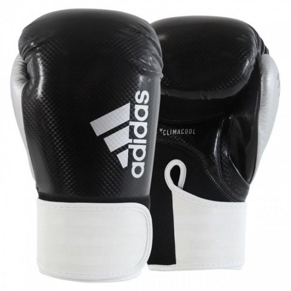 Adidas Boxhandschuhe Hybrid 75 Schwarz/Weiß/Silber