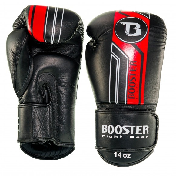 Booster Boxhandschuhe BGL V9 Schwarz Rot