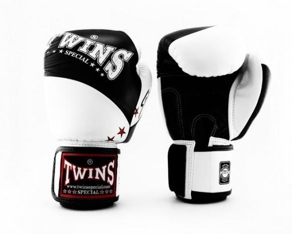 Twins BGVL 10 Boxhandschuhe Schwarz Weiß