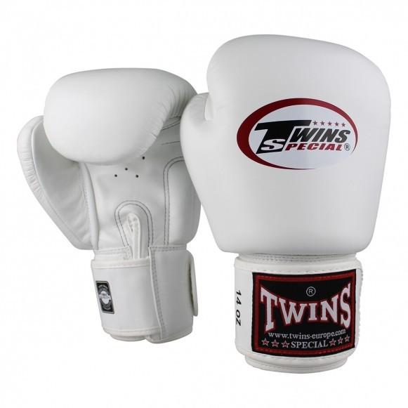 Twins Boxhandschuhe BGVL 3 Leder Weiß