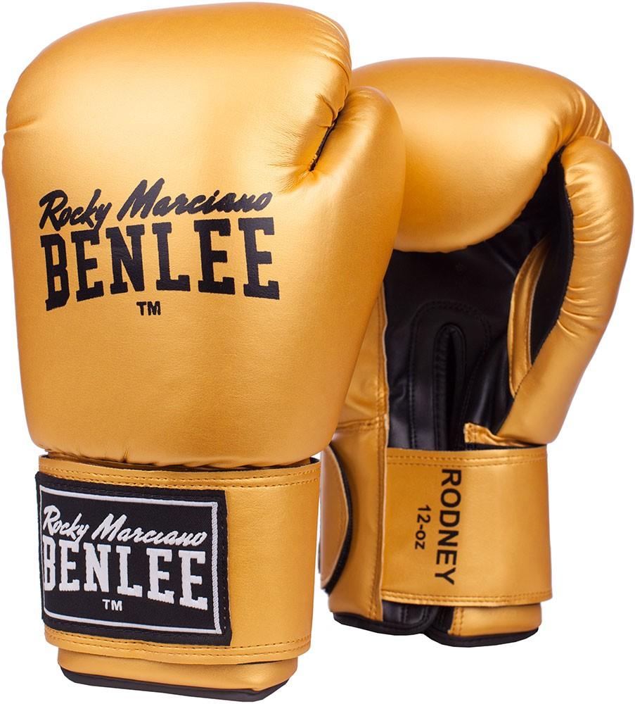 Benlee Rodney Boxhandschuhe aus Kunstleder Gold