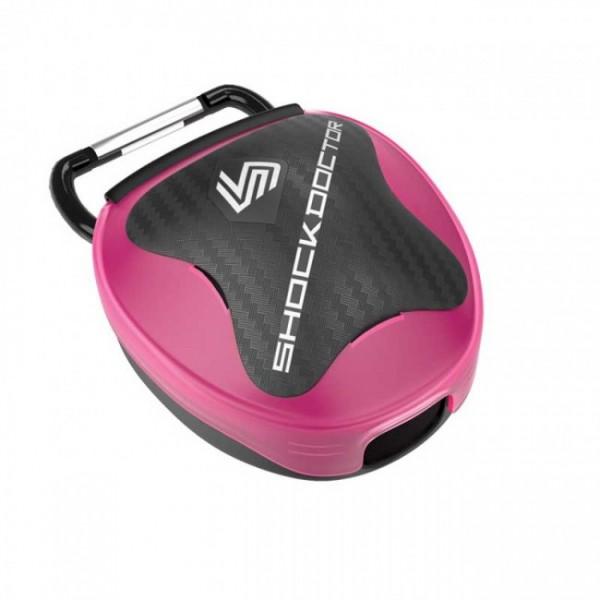 Shock Doctor Mundschutz Aufbewahrungsbox Pink Universal