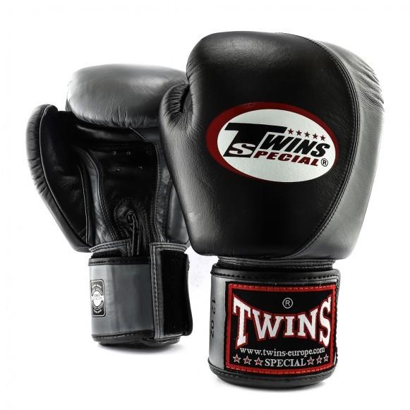 Twins Boxhandschuhe BGVL 9 Schwarz Grau