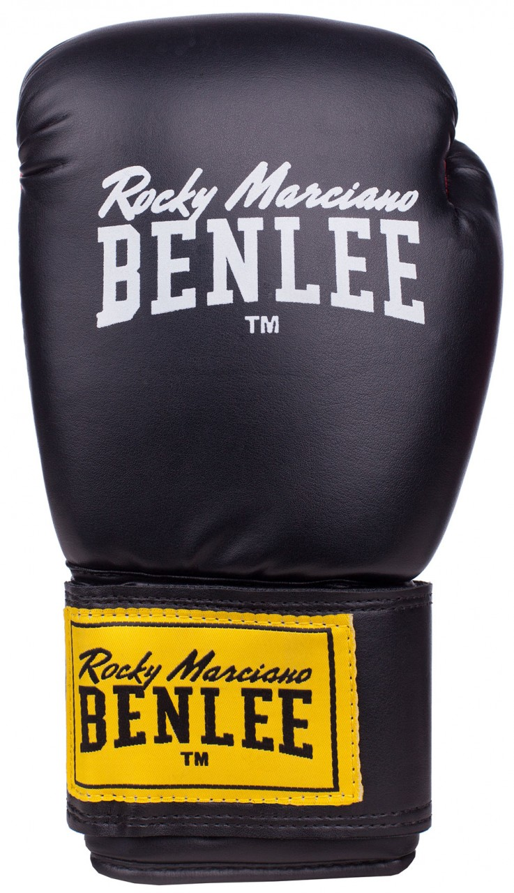 Benlee Rodney Boxhandschuhe aus Kunstleder Schwarz
