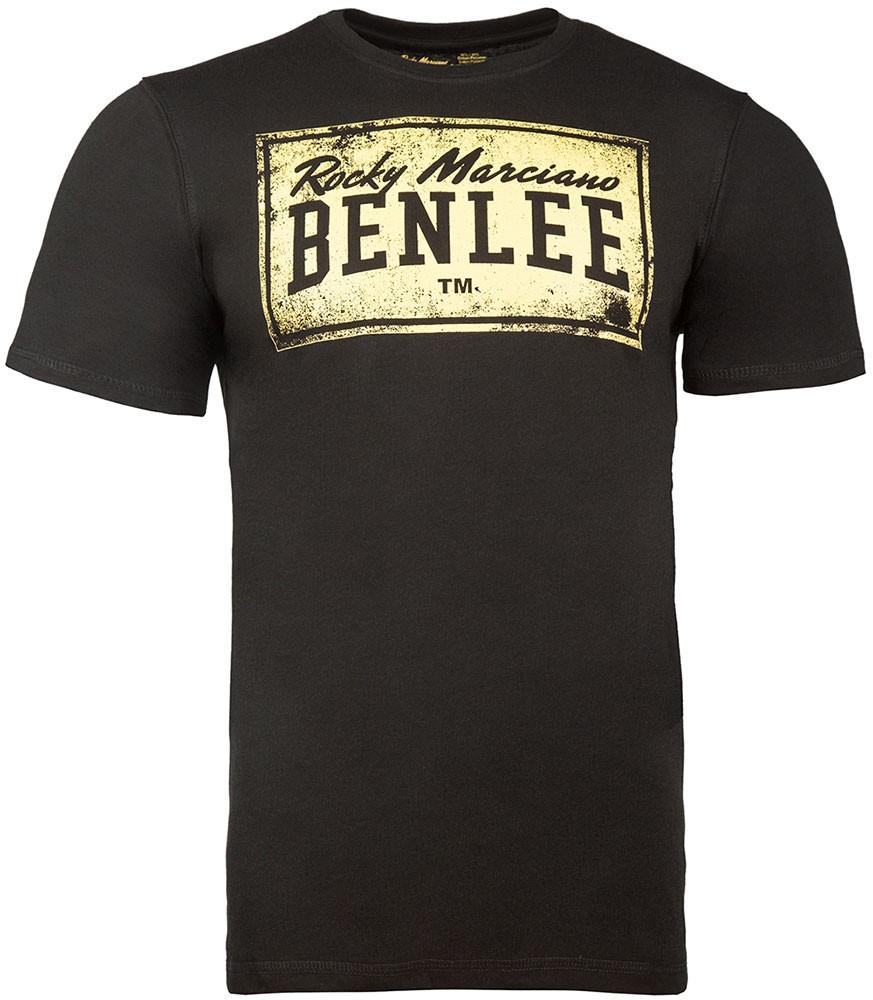 Benlee Herren T-Shirt, normale Passform BOXLABEL Schwarz