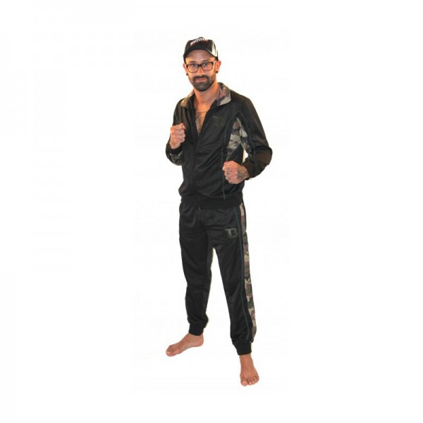 Booster TRACKSUITS Schwarz/Camouflage