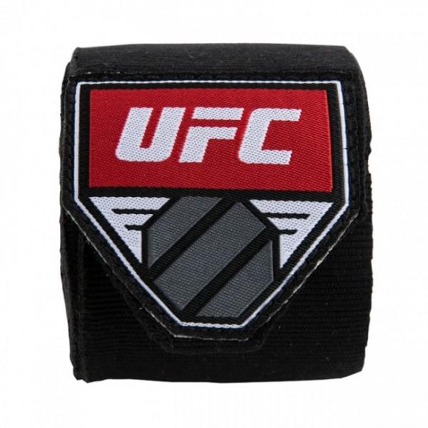"""UFC Contender 180"""" Hand Wraps Schwarz"""