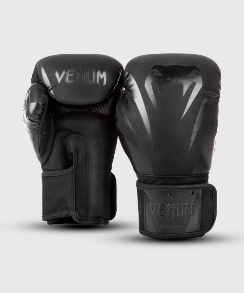 Venum Impact Boxhandschuhe - Schwarz/Schwarz