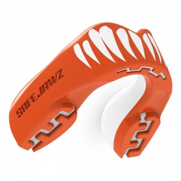 Safejawz Mundschutz Extro-Series Viper Red/White Senior