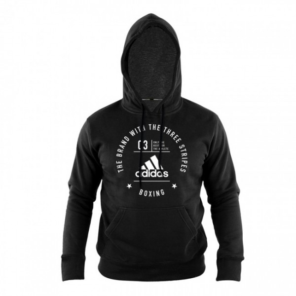 Adidas Community Hoodie Boxing Schwarz/Weiß