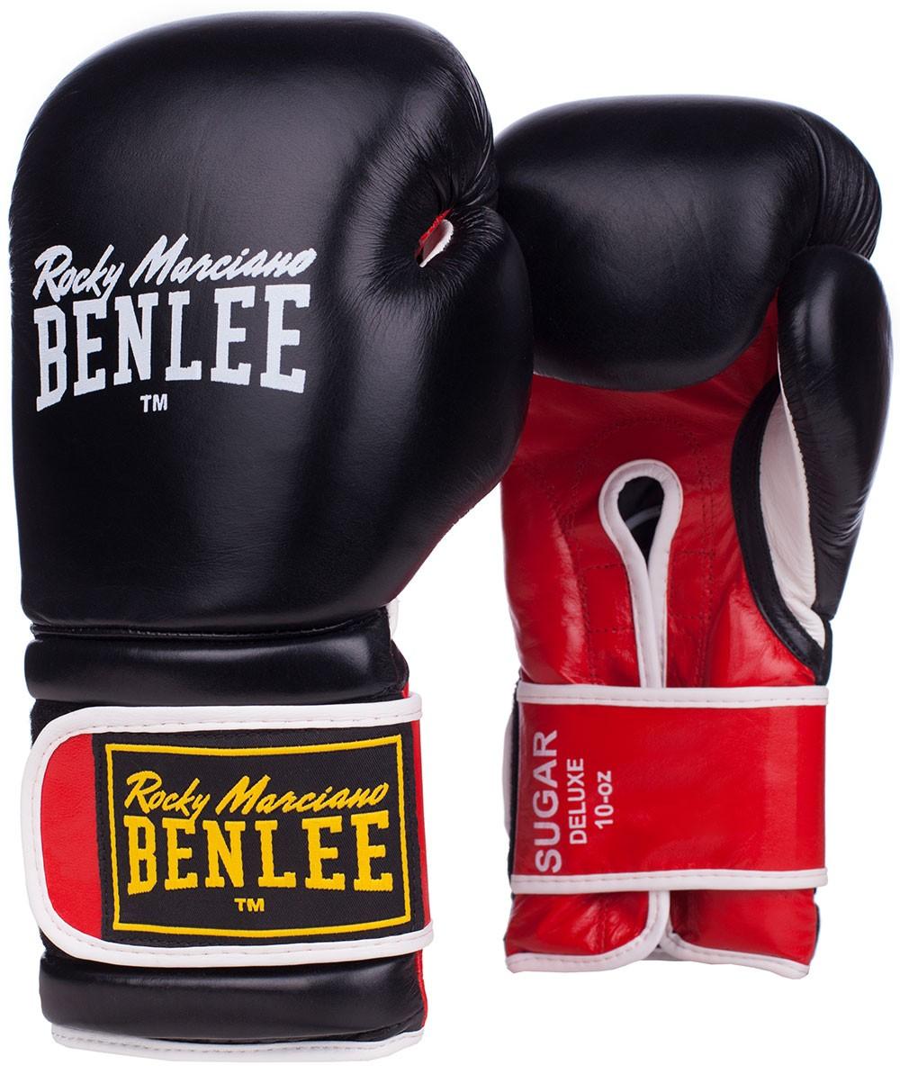 Benlee Sugar Deluxe Boxhandschuhe aus Leder