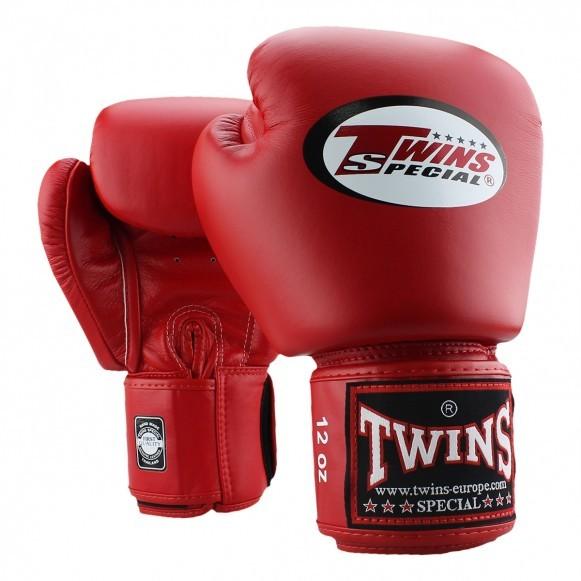 Twins Boxhandschuhe BGVL 3 Leder Rot