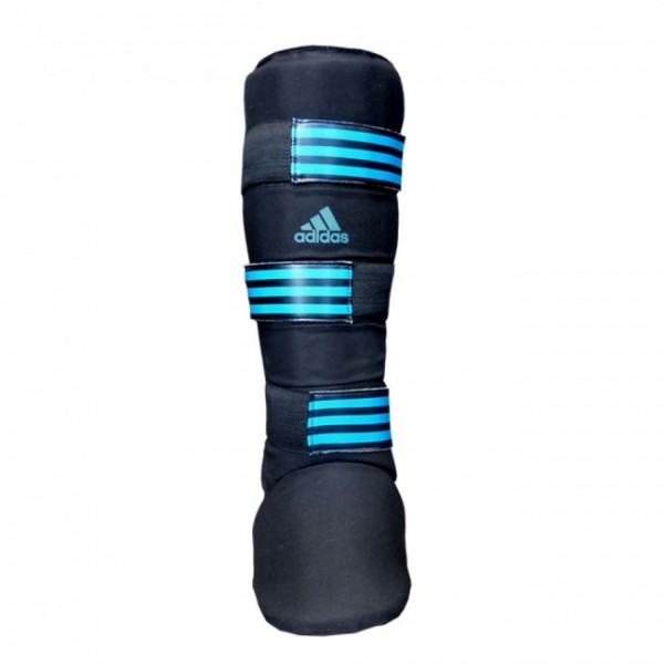 Adidas Textile Shin Instep Guard Black/Blue
