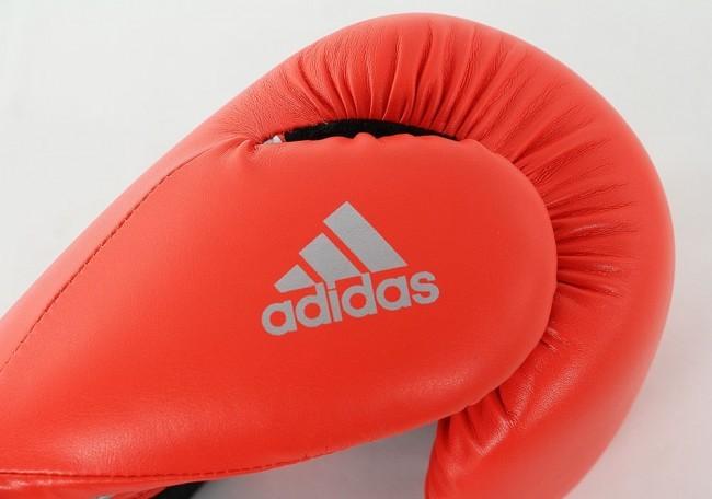 Adidas Boxhandschuhe Speed 100 Rot/Schwarz/Silber