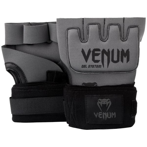 Venum Kontact Gel Handschuh Wraps Grau