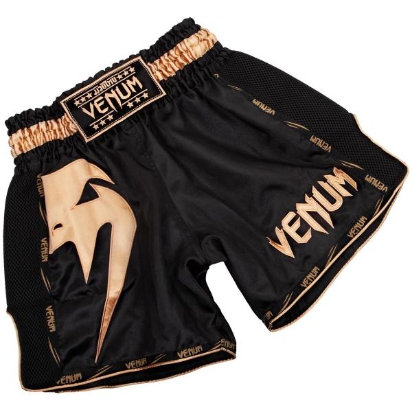 Venum Giant Muay Thai Shorts - Schwarz/Gold