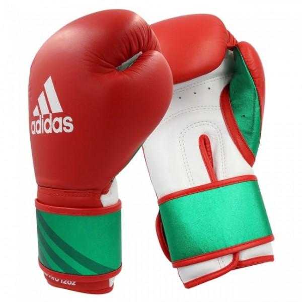 Adidas Boxhandschuhe Speed Pro Rot/Grün