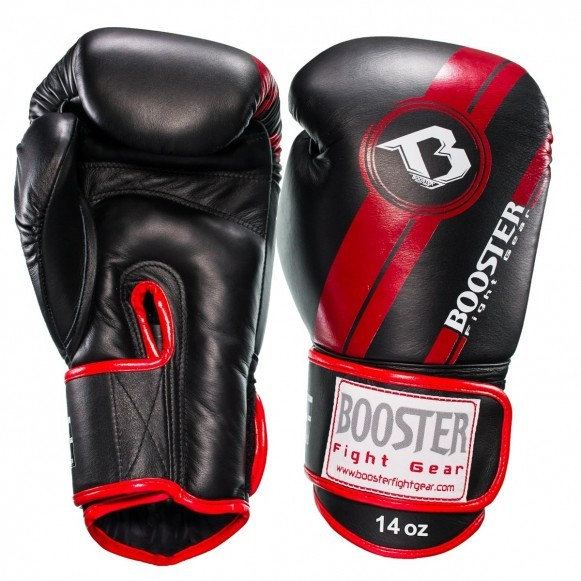 Booster Boxhandschuhe BGL 1 V3 Schwarz Rot Foil