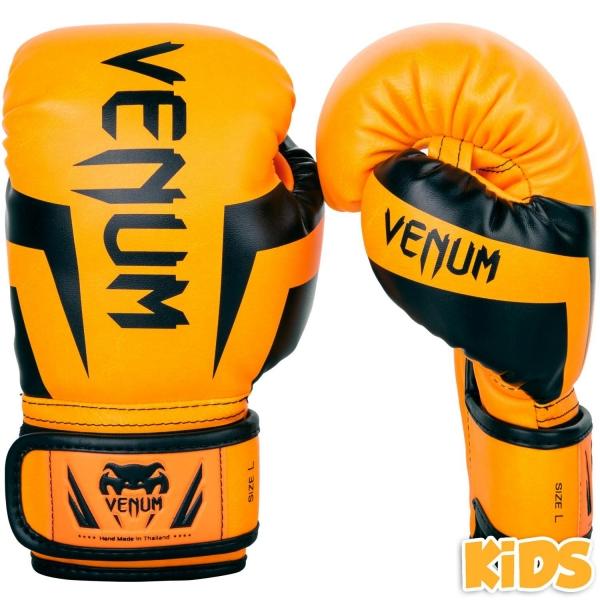 Venum Elite Handschuhe Kids - Exklusiv Orange