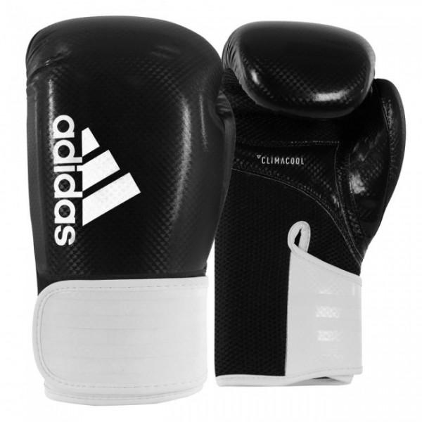 Adidas Boxhandschuhe Hybrid 65 Schwarz/Weiß