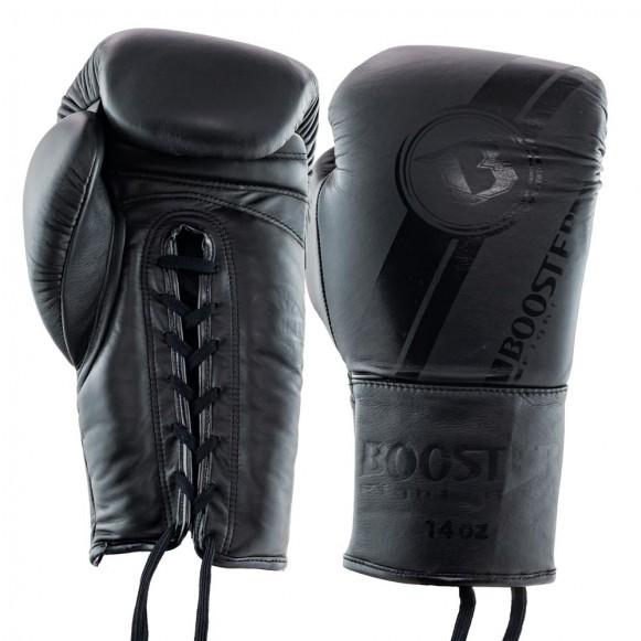 Booster Boxhandschuhe Pro BGL V3 Schwarz Schnürung
