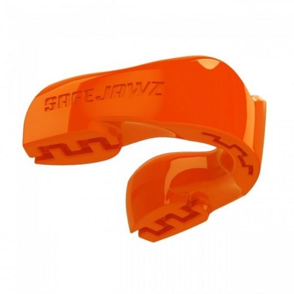 Safejawz Mundschutz Intro-Series Neon-Orange Senior