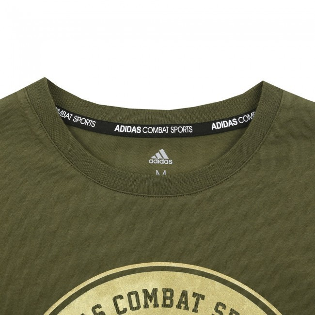 Adidas T-Shirt Combat Sports Grün/Gold