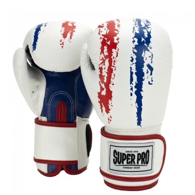 Super Pro Combat Gear Talent Kinder Boxhandschuhe Rot/Weiß/Blau