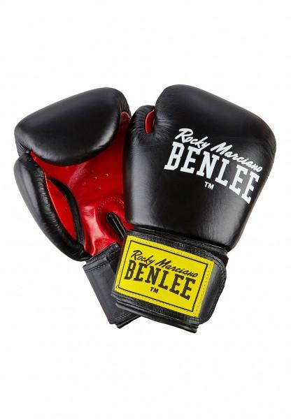 Benlee Fighter Boxhandschuhe aus Leder Schwarz