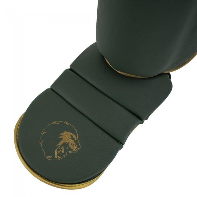 Super Pro Combat Gear Schienbeinschützer Protector SE Grün/Gold