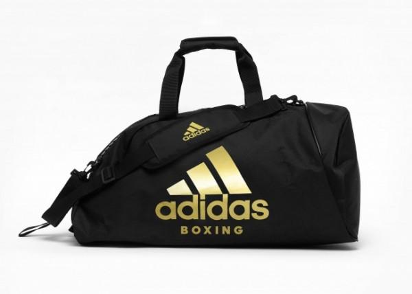 Adidas Sporttasche Shoulder Strap Boxing Schwarz/Gold L