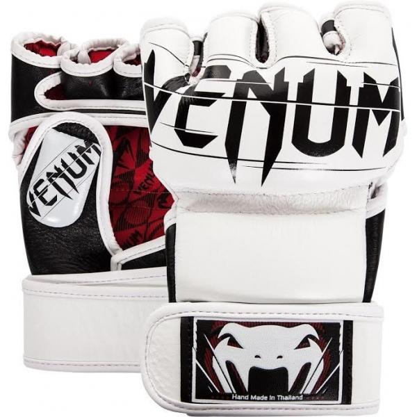 Venum Undisputed 2.0 MMA Handschuhe - Nappaleder Weiß