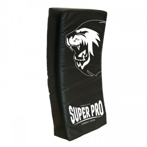 Super Pro Combat Gear gebogenes Kicking Shield Schwarz 75x35x15 cm