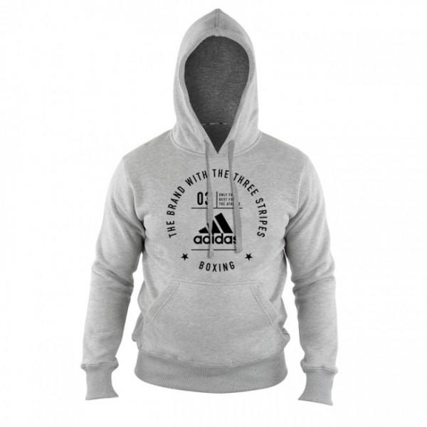 Adidas Community Hoodie Boxing Grau/Schwarz