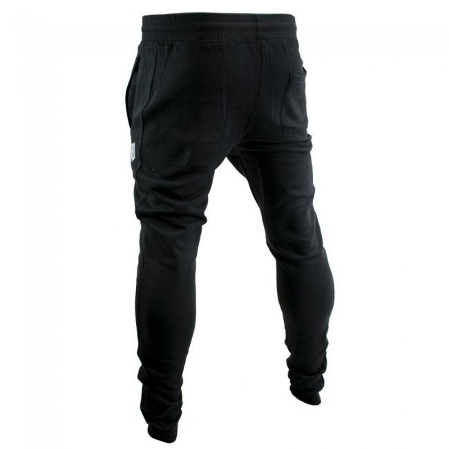 Super Pro Jogging Pants Schwarz/Weiß