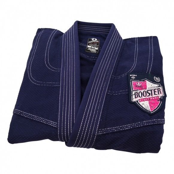 Booster BJJ-Gi`s BJJ Pro Shield Navy Female