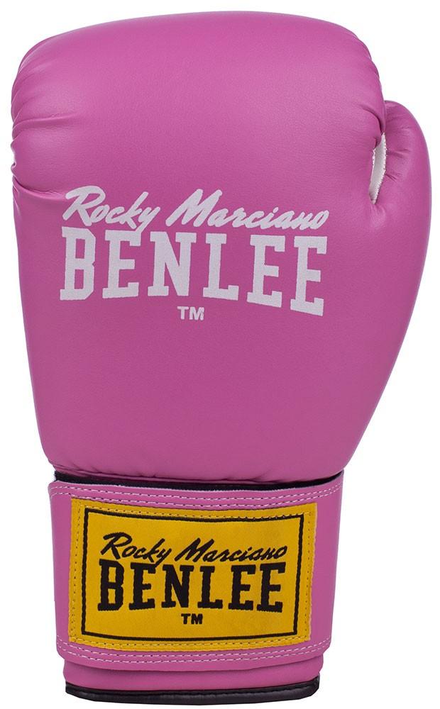 Benlee Rodney Boxhandschuhe aus Kunstleder Pink