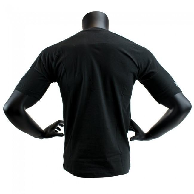 Super Pro T-Shirt S.P. Logo Grau/Schwarz