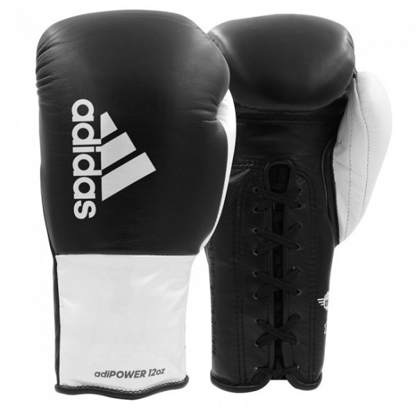 Adidas Boxhandschuhe adiPOWER Schwarz/Weiß