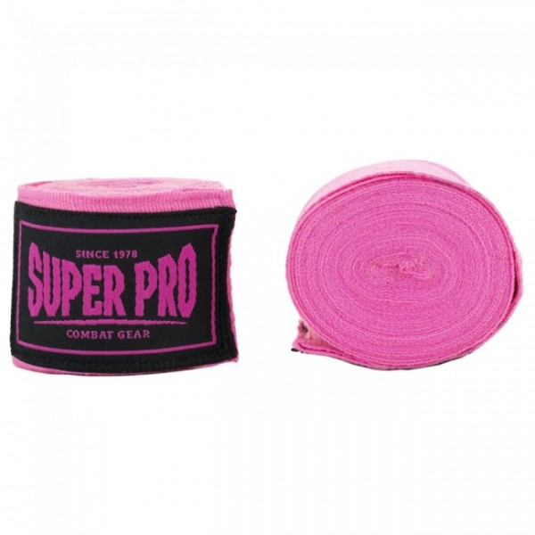 Super Pro Boxbandage Combat Gear Bandagen Pink