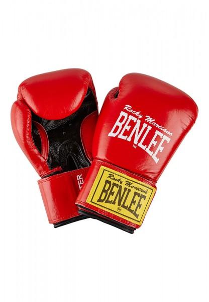 Benlee Fighter Boxhandschuhe aus Leder Rot