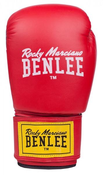 Benlee Rodney Boxhandschuhe aus Kunstleder Rot