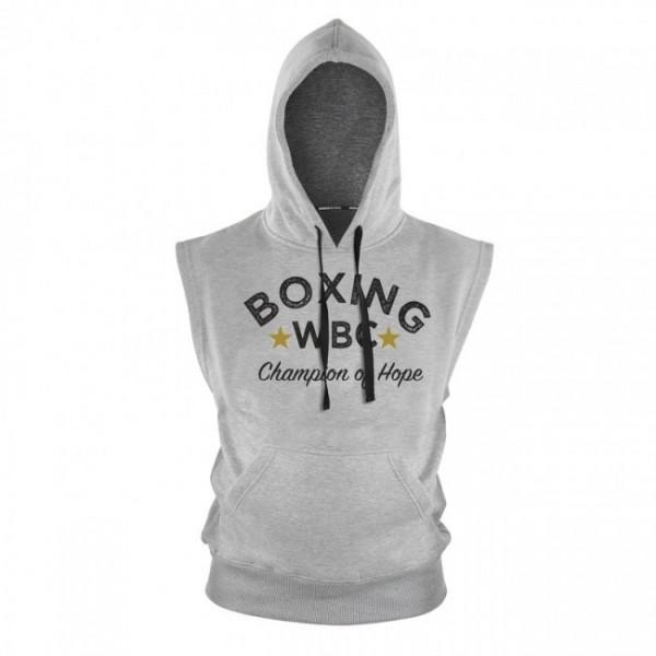 WBC Hoodie Sleeveless - Grau
