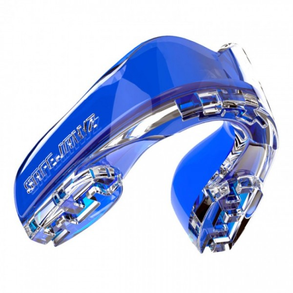 Safejawz Mundschutz Extro-Serie Ice Blue Senior