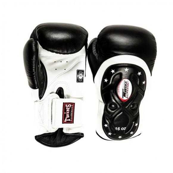 Twins BGVL 6 Boxhandschuhe Premium MK Edition Schwarz Weiß