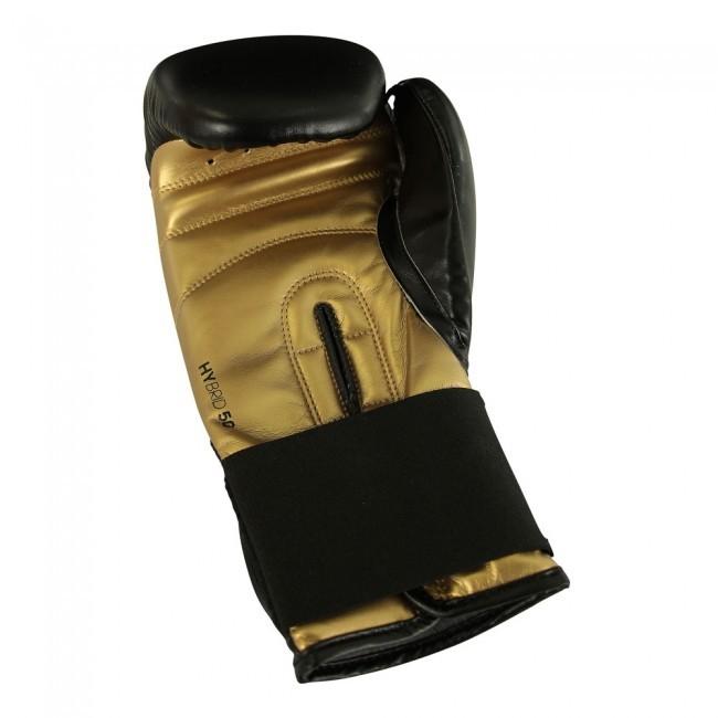 Adidas Boxhandschuhe Hybrid 50 black/gold