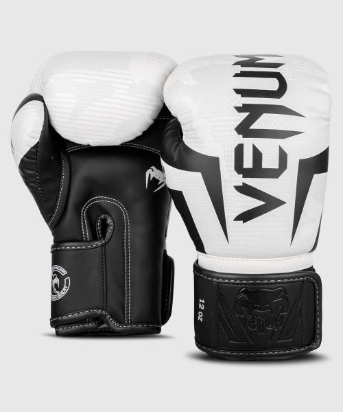 Venum Elite Boxhandschuhe - White/Camo